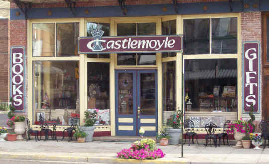 Castlemoyle Books in Pomeroy Store front picture
